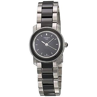 Tissot T0642102205100 – Reloj de Mujer de Cuarzo, Correa de Acero Inoxidable Color