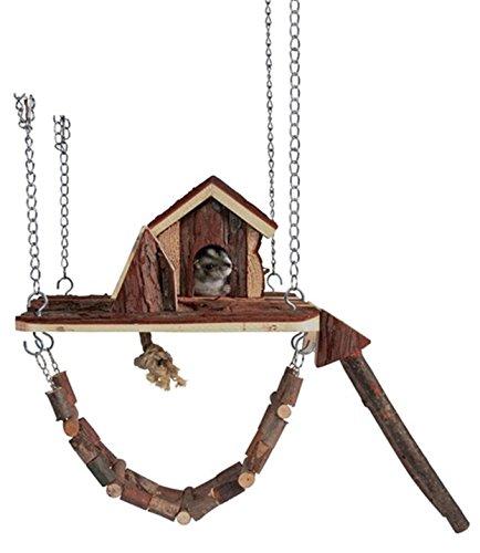 Natural Living aire de jeu Janne, 26 × 22 cm pour souris / hamsters