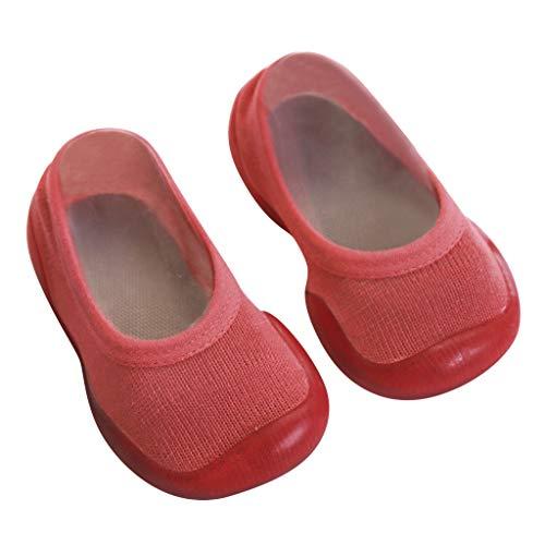 Für Mädchen Kostüm Erwachsene Racer Damen - LILIGOD Neugeborenes Baby Slipper Mädchen Kinder Gummi Schuhe Weiche Sohle Kleinkindschuhe Socken Schuhe Bequeme rutschfeste Bodenschuhe Slip On Lauflernschuhe Geschlossene Schuhe