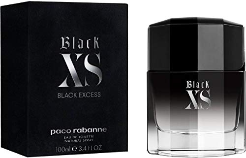 Paco Rabanne Black XS homme / men, Eau de Toilette, Vaporisateur / Spray 100 ml, 1er Pack (1 x 100 ml)