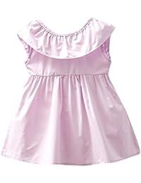 Btruely Herren Vestido de Verano/Primavera Niña Floral Bowknot Vestido de la honda Princesa Vestido