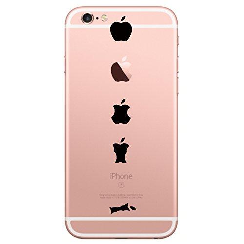 Galleria fotografica Qissy TPU iPhone 6 Plus 6s Plus 5.5 coperchio trasparente per la copertura della cassa Hülle silicone Schale Backcover Personalità creativa design unico (iPhone 6 Plus 6s Plus 5.5, 13)