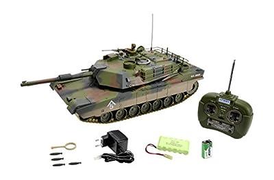 Carson 500907187 - Panzer, 1:16 M1 A1 Abrams, 27 MHz, 100% RTR von Carson