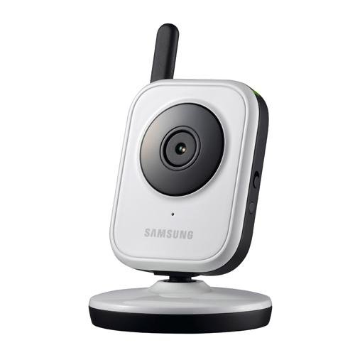 Samsung Baby Monitor: Additional Camera for Baby Monitor, Two-Way Audio, Rechargeable, Expandable System, IR, Night Vision, Zoom, with 3.5
