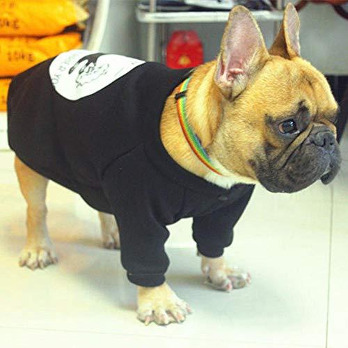 idung Verdickung Warme Baumwolle Kleine Hundemantel Jacke Lustige Süße Haustier Hund Kostüm Winter Mops Französische Bulldogge Teddy Kleidung Für Kleine Hunde ()