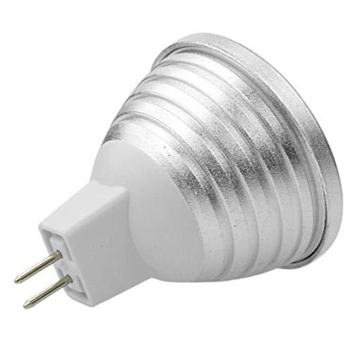 Preisvergleich Produktbild 3 x RGB LED MR16 Farbwechsel Lampe mit Fernbedienung Leuchtmittel Partybeleuchtung
