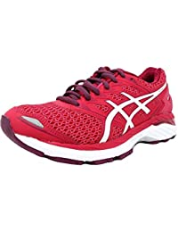 79beeab86c6a4 ASICS Women s Gt 3000 5 Running Shoes Bright Rose White Purple 6.0 B(
