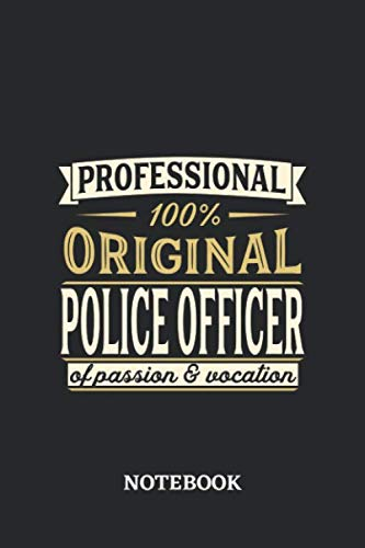 Girl Cop Halloween Outfit - Professional Original Police Officer Notebook of