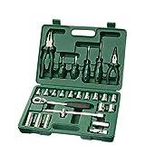 LXDTOOL 26-Teiliger Ratschenschlüssel, Schraubendreher, Werkzeugzange, Setzwerkzeug