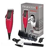 Remington Haarschneidemaschine HC5018 (netzbetriebener Haarschneider, 5 Aufsteckkämme 3-18mm,...