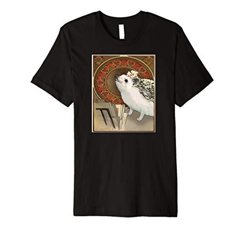 Art Nouveau Hedgehog T-Shirt: Jugendstil Igel