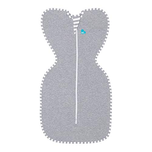 Love To Dream Gigoteuse d'emmaillotage Swaddle UP - Gris 3-6 kg
