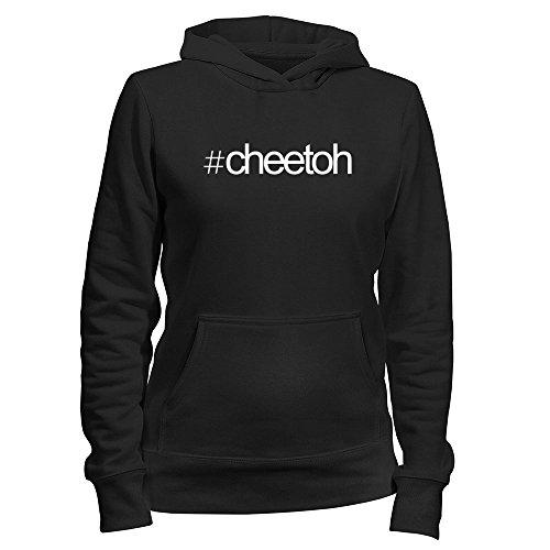 Idakoos Hashtag Cheetoh - Katzen - Damen Hoodie (Katzen Cheetoh)