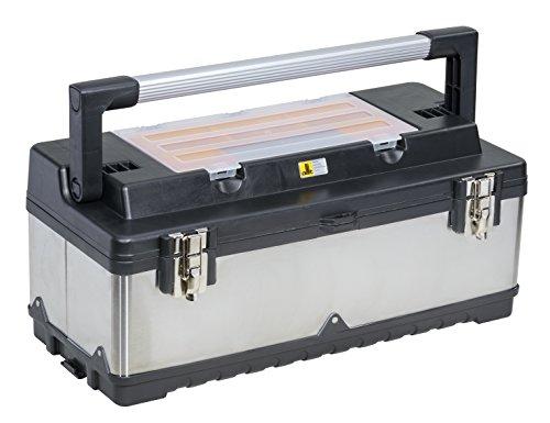 Allit 476420 McPlus Pro >M< 23 Profi-Werkzeugkoffer, Silber/Schwarz, 550x220x155mm Nutzmaß