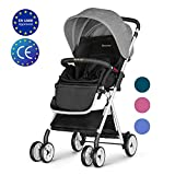 Besrey Baby Stroller Folding Pushchair Lightweight Infant Travel Buggy - Grey