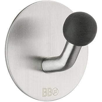 Beslagsboden T/ür Haken Design von Edelstahl Poliert Silber