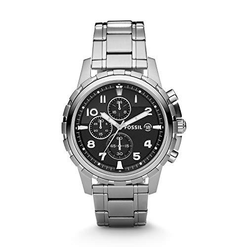 Fossil Analog Black Dial Men's Watch - FS4542