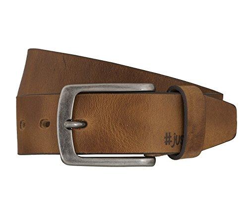 LLOYD Men's Belts Gürtel Herrengürtel Ledergürtel Vollrindleder Beige 5364, Farbe:Braun, Länge:100