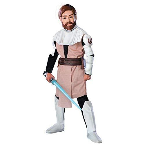 Obi Kostüm Wan Junge - Rubie's Delux Obi-Wan KenobiTM Kostüm Junge