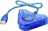 SIENOC Doppio PS1 PS2 PSX controller di gioco Console joystick per dell'adattatore del convertitore USB de