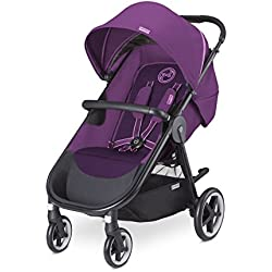 Cybex Agis M-Air 4 - Silla de paseo (desde el nacimiento hasta 17 kg), color Grape juice
