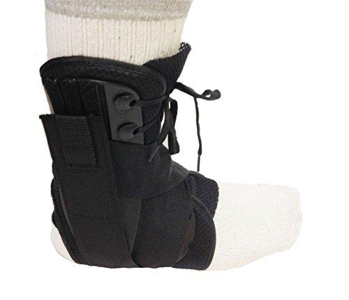 Stringhe Ankle Brace ortopedico stecca con nylon balistico per i ceppi, distorsioni e riabilitazione