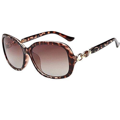 Nerd clear cool neon ovale lunettes de soleil avec verres miroir style rétro imprimé léopard atze été trend 2015 - - Blanc T3aIFZzCY,