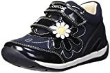 Geox B Each Girl G, Zapatillas para Bebés, Azul (Navy/White), 22 EU