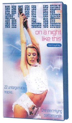 Kylie Minogue : On a Night Like This, live in Sidney 2001 [VHS]