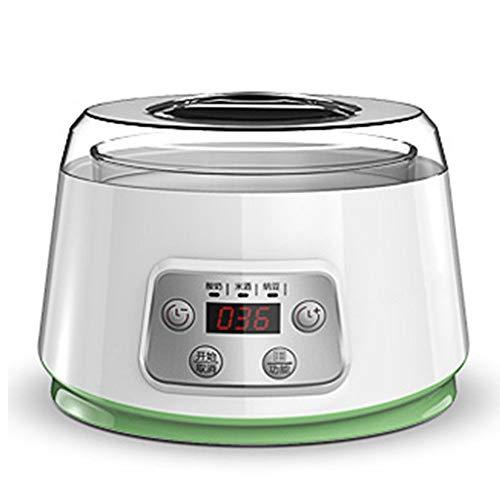 DYR Joghurtbereiter Joghurtbereiter Haushalt Automatische Mini Selbstgemachtes Glas Split Cup Reiswein Natto Fermentation Machine (Farbe: Kombination A)