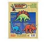 Weico 81050 - Laubsäge Vorlage 3er Set Dinosaurier
