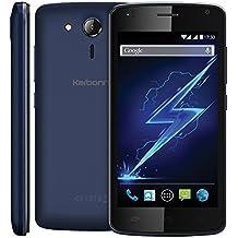 Karbonn A40 India Blue Mobile Phone , Black Colour