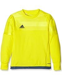 Adidas Entry 15 GK - Camiseta para Hombre, Color Amarillo/Azul Marino, Talla
