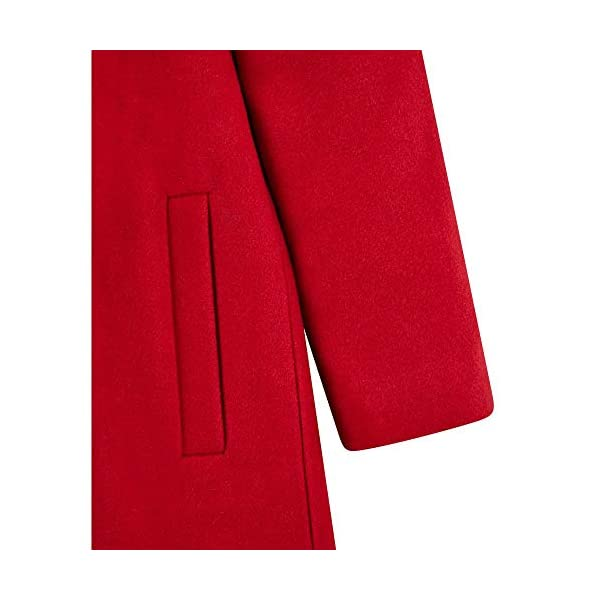 Mothercare Flow Wool Blend Coat with Hood Red Abrigo para Bebés 3