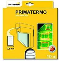 Schellenberg Primatermo Standard - Junta de espuma (9 x 6 mm, 10 m) color blanco