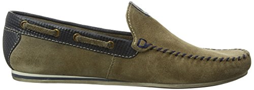 Bugatti F066631g, Mocassins (loafers) homme Marron (Taupe 182)