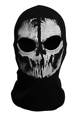 Hakkin Tour de Cou Masque Cagoule Ghost - Tete de mort (Couleur2)