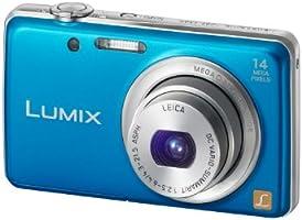 """Panasonic Lumix DMC-FS40EG-A Appareil photo numérique 14 mégapixels, zoom optique 5 x, écran 6,7 cm (2,6""""), grand angle 24 mm, stabilisateur d'image (Bleu)"""