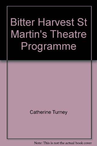 bitter-harvest-st-martins-theatre-programme