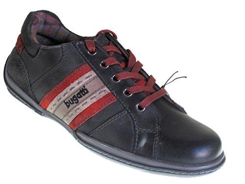 bugatti-uomo-scarpe-stringate-nero-schwarz-f6807-8-100