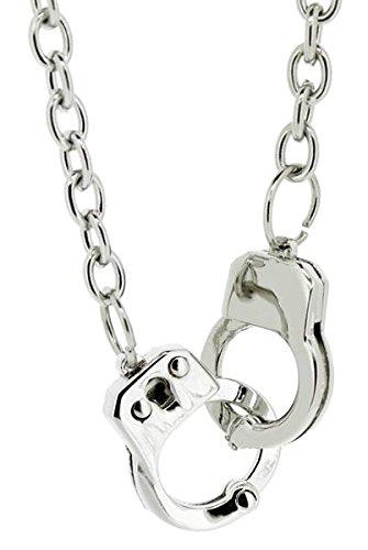 Doktor Hardstuff Halskette Handschellen Anhänger