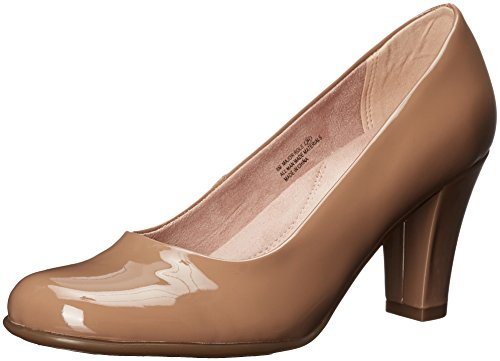 Aerosoles Damen Major Role, Light Tan Patent 7 M EU Tan Snake Schuhe