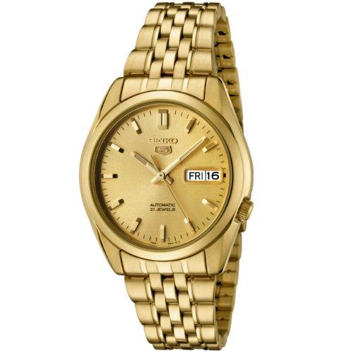 Seiko - Herren -Armbanduhr- SNK366K (Seiko Gold Armbanduhr Chronograph)