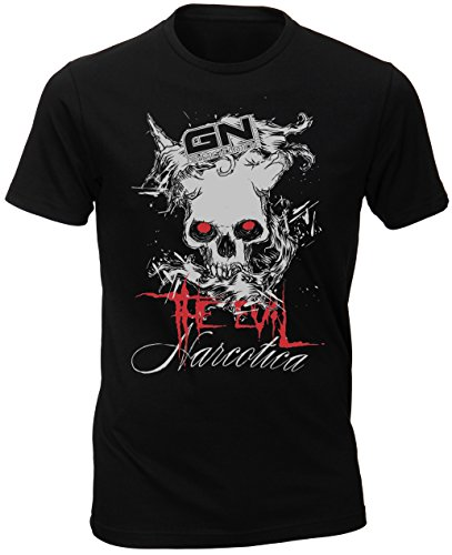 T-Shirt - GN Laboratories Narcotica The Evil