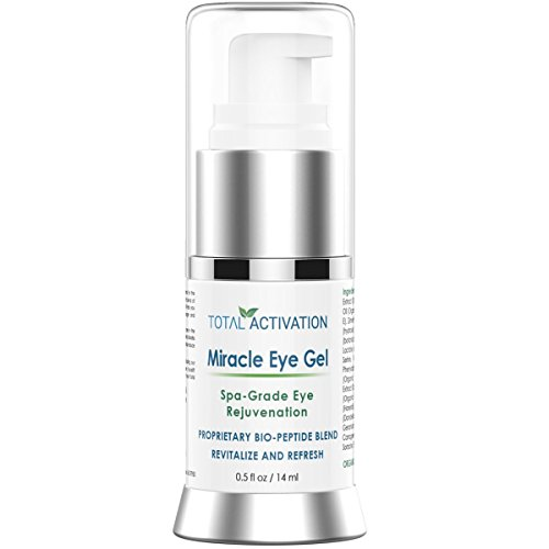 Dark Circle Eye Cream Dark Circles (Anti Wrinkle Collagen Eye Serum für Männer und Frauen, Age Spot Treatment, Anti Aging Gel, ersetzt Retinol Face & Eye Skin Cream, Day & Night Dark Circle Under Eye Treatment, 0.5 oz)
