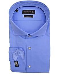 Jacques Britt Hemd Kai Mix EEL extra extra langer Arm Haifischkragen Custom Fit Blau Art.Nr.676803/10
