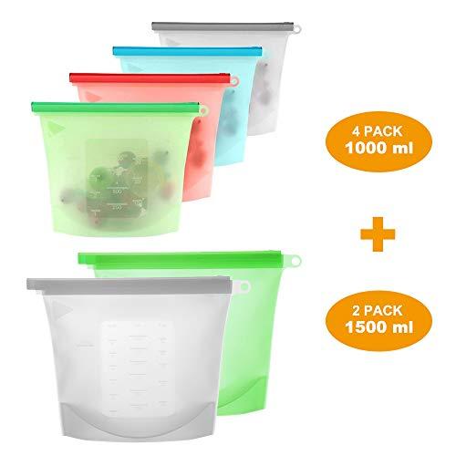 Bolsas de almacenamiento de alimentos