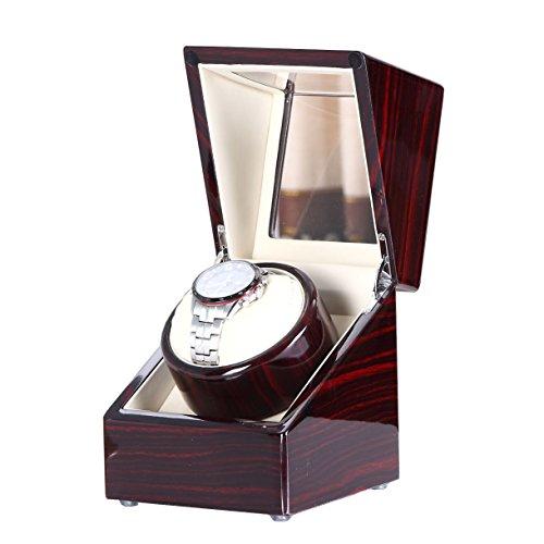 [100%Pure Handgefertigt] Love Nest Uhrenbeweger mit Ruhig japanischen Mabuchi Motor X2EB