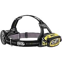 Petzl Stirnlampe LED Stirnlampe Duo S Schwarz Gelb - Linterna (Linterna con cinta para cabeza)