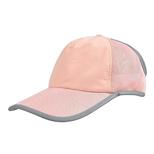 Cappello a Cilindro Vuoto Femmina Summer Tennis Running Sunscreen Face Shading Sport all'Aria Aperta Wild (Colore : Kaki Leggero)